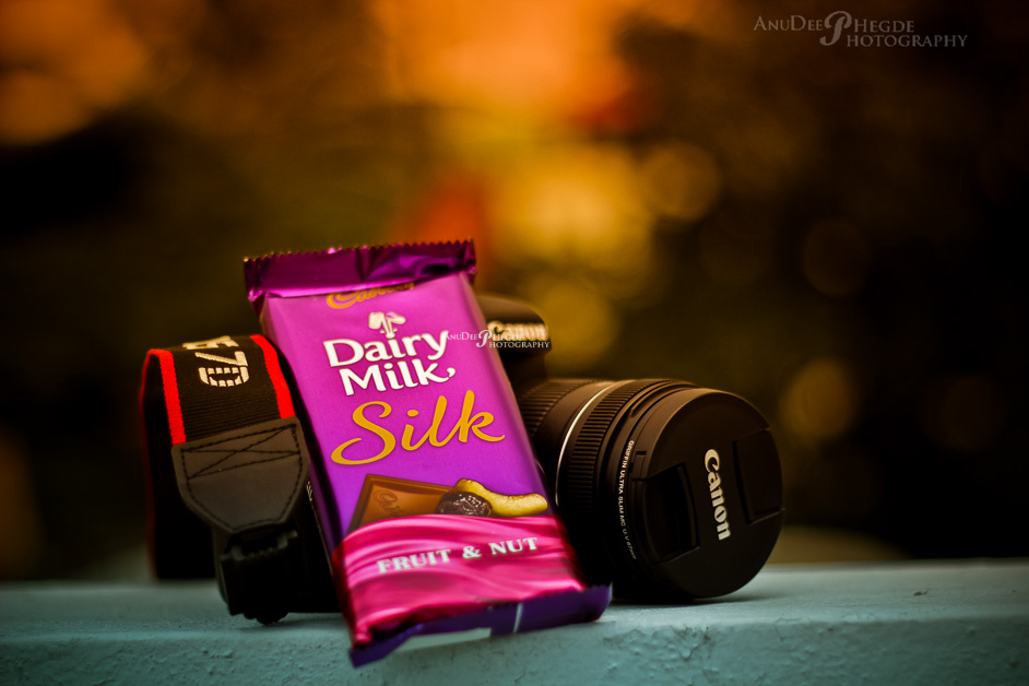 canon 5d mark3 - dairy milk silk