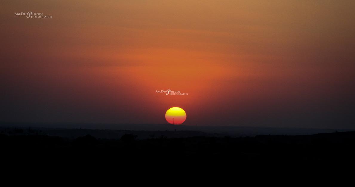 SUNSET - SOMESHWARA BEACH