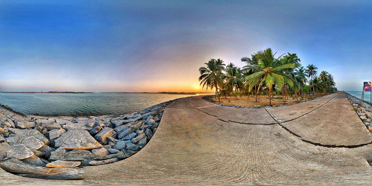 Kodi Sea Walk - kundapura