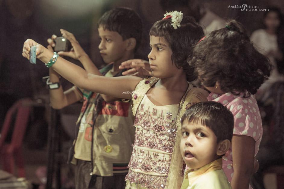 Children-selfie