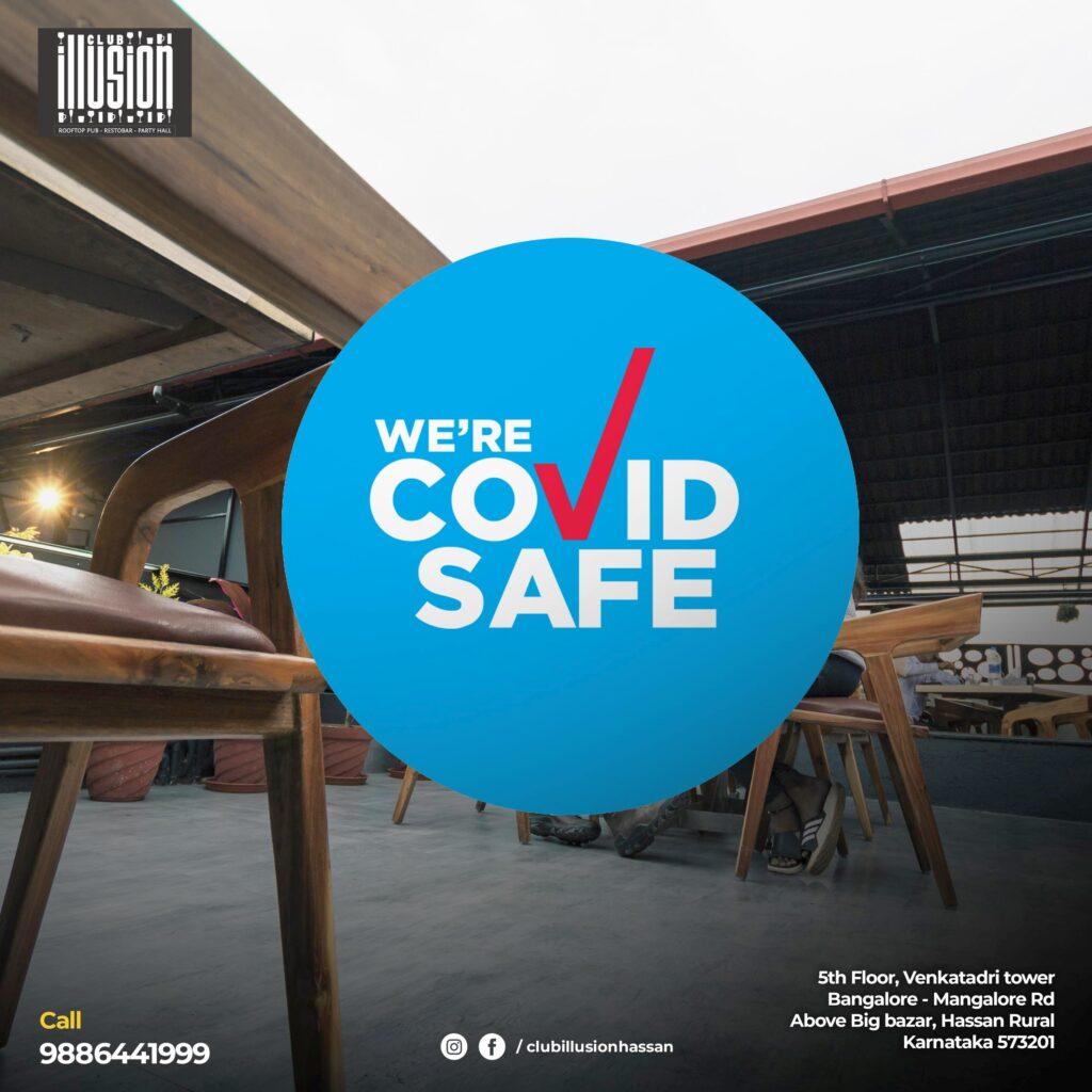 Digital-Marketing-Anudeep-hegde -Club Illusion - Hassan - covid safe